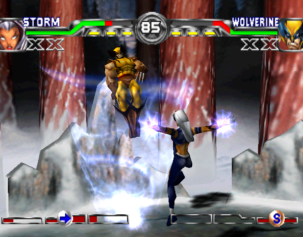 X-Men Mutant Academy 2 Activision Arcade Fighting Sony PlayStation PSX PSone Xtreme Retro 5