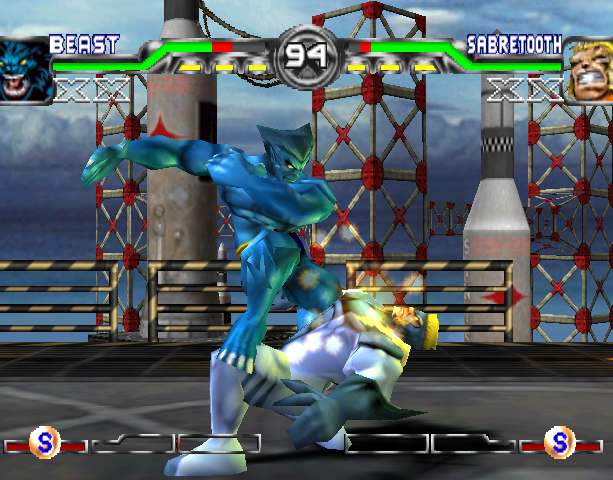X-Men Mutant Academy 2 Activision Arcade Fighting Sony PlayStation PSX PSone Xtreme Retro 7