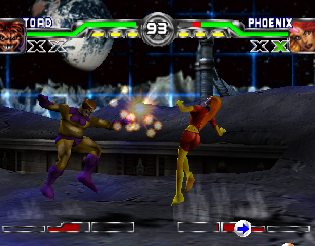 X-Men Mutant Academy 2 Activision Arcade Fighting Sony PlayStation PSX PSone Xtreme Retro 8