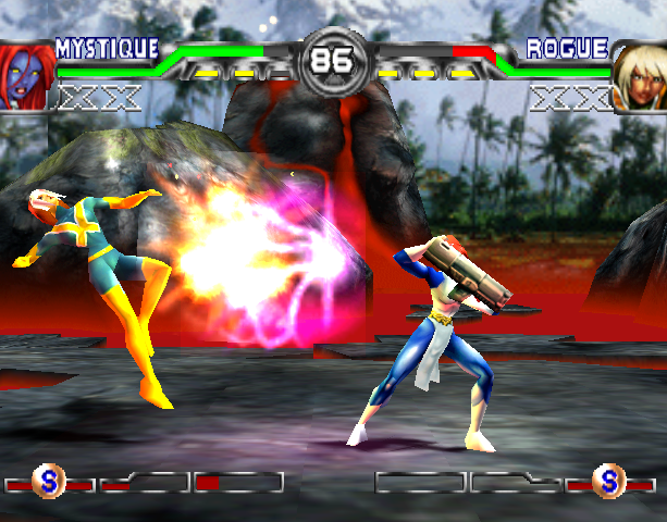 X-Men Mutant Academy 2 Activision Arcade Fighting Sony PlayStation PSX PSone Xtreme Retro 9