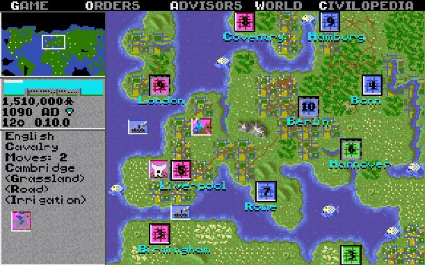 12 Sid Meiers Civilization DOS Windows Amiga Mac Atari ST Super Nintendo SNES Xtreme Retro