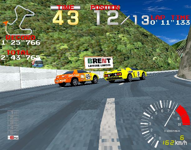 5 Ridge Racer Namco Sony PlayStation PSX PSone Arcade System 22 Xtreme Retro