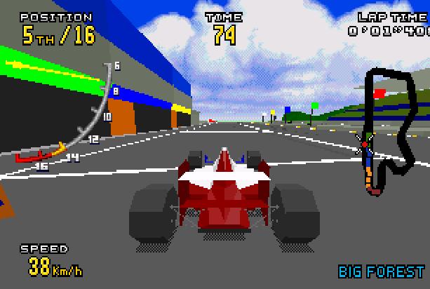 6 Virtua Racing Sega Genesis Mega Drive MD 32X Xtreme Retro