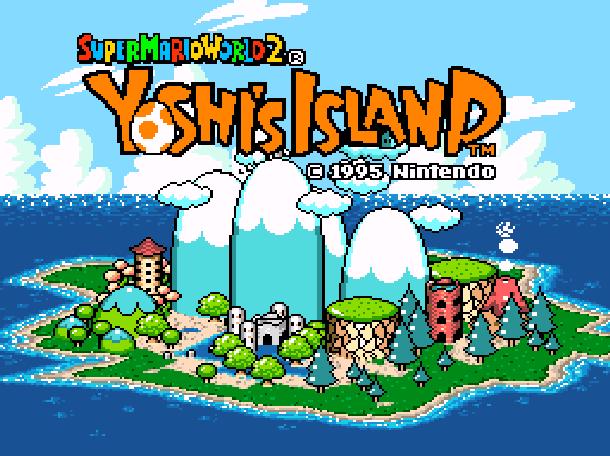 8 Super Mario World 2 Yoshi's Island Nintendo Super Nintendo SNES Xtreme Retro