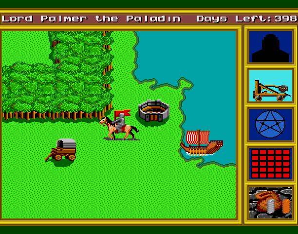 9 King's Bounty New World Computing Commodore 64 Amiga DOS Mac Sega Gensis Mega Drive Windows Xtreme Retro
