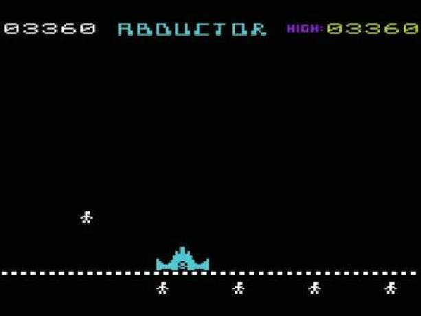 Abductor Llamasoft Jeff Minter Commodore Vic 20 1982 Xtreme Retro