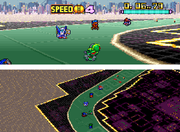 Battle Racers banpresto Super Famicom SNES Xtreme Retro 2