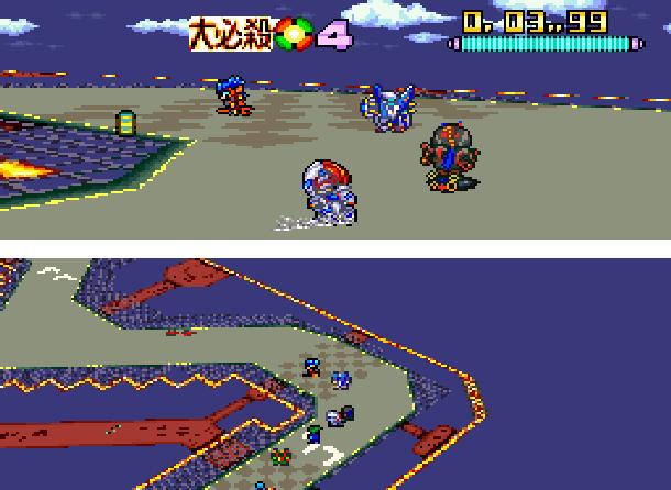 Battle Racers banpresto Super Famicom SNES Xtreme Retro 3