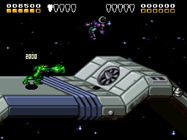 Battletoads & Double Dragon The Ultimate Team Rare Beat'em up Super Nintendo NES Game Sega Genesis Mega Drive Xtreme Retro 3