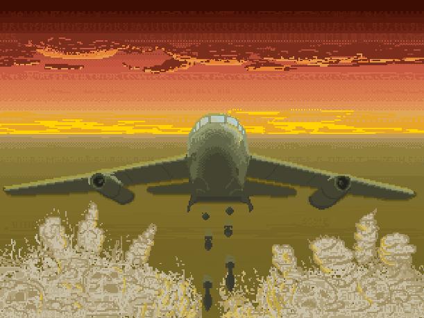 Blitzkrieg Bomb Buenos Aires Commodore Vic-20 Llamasoft Jeff Minter Xtreme Retro Pixel Art