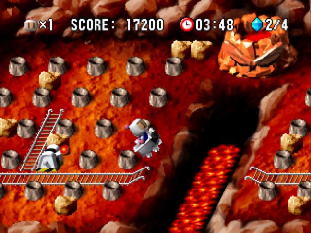Bomberman World Bonbāman Wārudo Hudson Soft Atlus Sony PlayStation PSX PSone Xtreme Retro 3