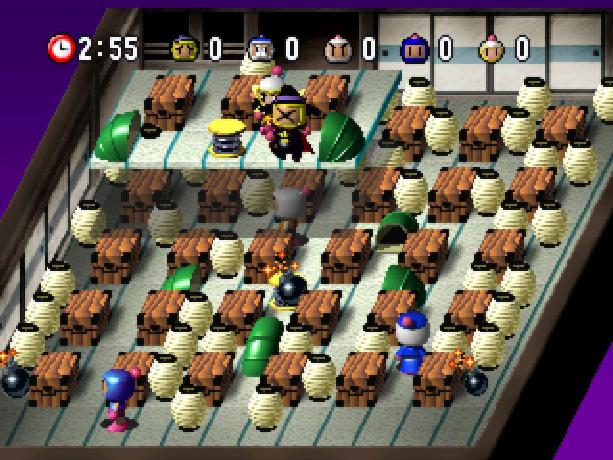 Bomberman World Bonbāman Wārudo Hudson Soft Atlus Sony PlayStation PSX PSone Xtreme Retro 6