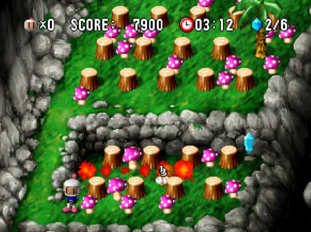 Bomberman World Hudson Soft Sony PlayStation PSX PSone Xtreme Retro 1