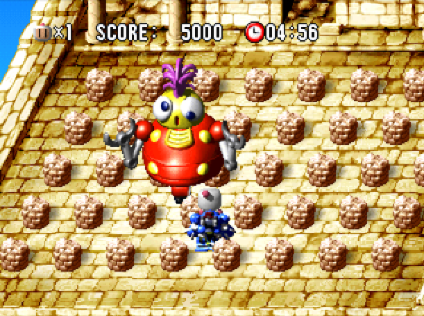 Bomberman World Hudson Soft Sony PlayStation PSX PSone Xtreme Retro 2