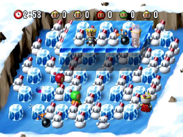 Bomberman World Hudson Soft Sony PlayStation PSX PSone Xtreme Retro 4