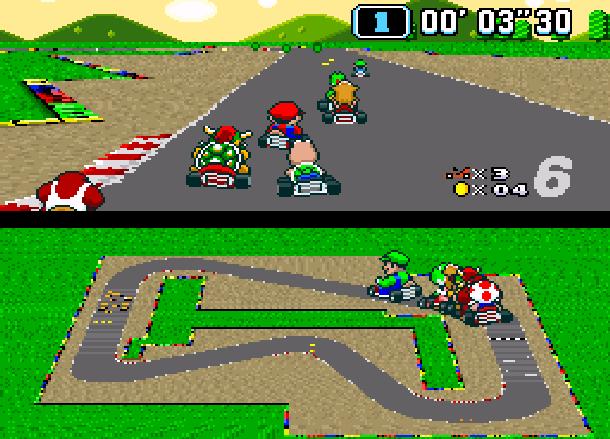 C Super Mario Kart Nintendo SNES Super Nintendo Xtreme Retro