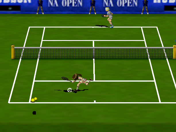 Centre Court Tennis Hudson Soft Nintendo 64 N64 Xtreme Retro 11