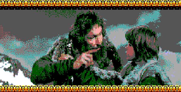 Conan Pixel Art Xtreme Retro