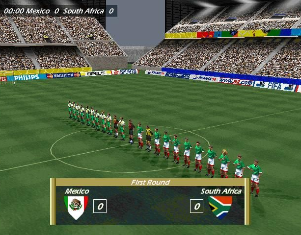 Copa del Mundo 98 World Cup 98 Electronic Arts Sony PlayStation PSX PSone Nintendo 64 N64 Windows PC Sports Xtreme Retro 1