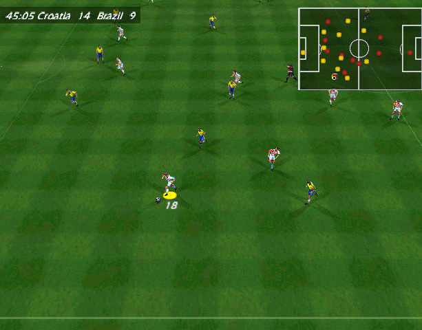 Copa del Mundo 98 World Cup 98 Electronic Arts Sony PlayStation PSX PSone Nintendo 64 N64 Windows PC Sports Xtreme Retro 12