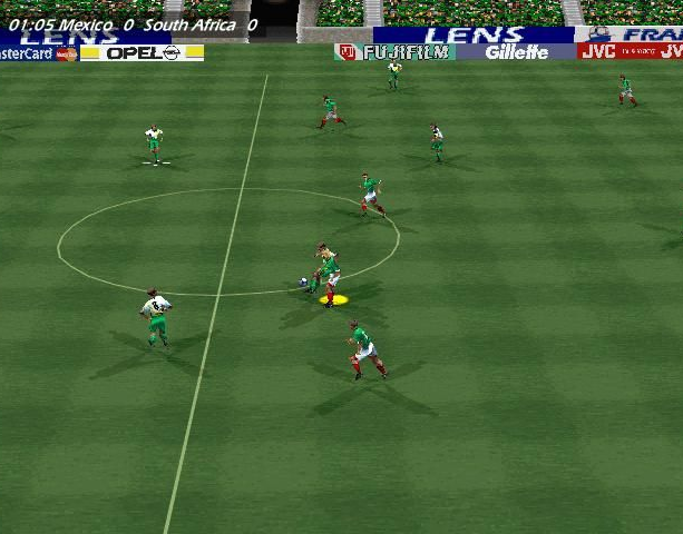Copa del Mundo 98 World Cup 98 Electronic Arts Sony PlayStation PSX PSone Nintendo 64 N64 Windows PC Sports Xtreme Retro 2