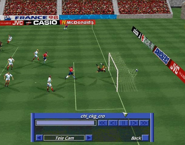 Copa del Mundo 98 World Cup 98 Electronic Arts Sony PlayStation PSX PSone Nintendo 64 N64 Windows PC Sports Xtreme Retro 3