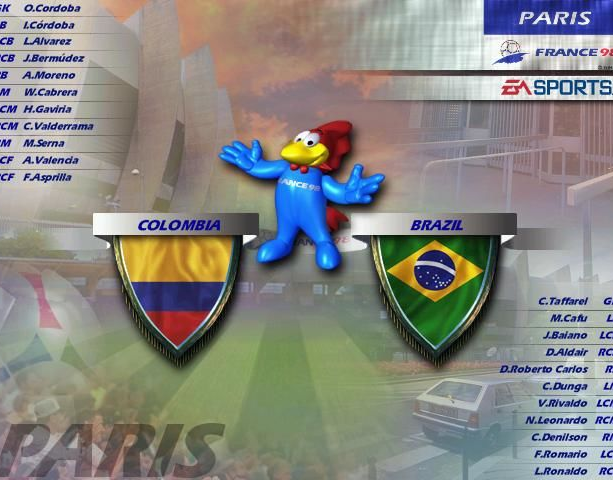 Copa del Mundo 98 World Cup 98 Electronic Arts Sony PlayStation PSX PSone Nintendo 64 N64 Windows PC Sports Xtreme Retro 6