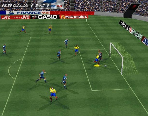 Copa del Mundo 98 World Cup 98 Electronic Arts Sony PlayStation PSX PSone Nintendo 64 N64 Windows PC Sports Xtreme Retro 8