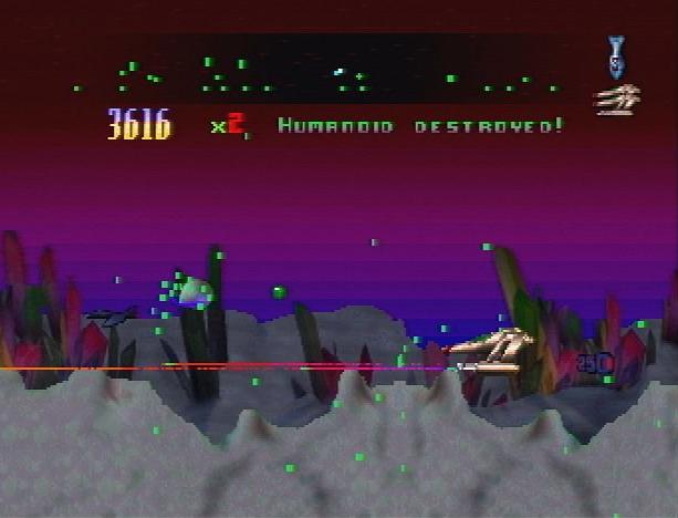 Defender 2000 Llamasoft Jeff Minter 1995 Atari Jaguar Shoot'em up Xtreme Retro
