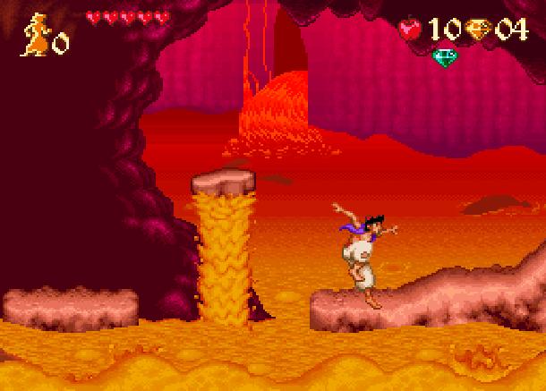Disney's Aladdin Capcom Super Nintendo SNES Xtreme Retro 2