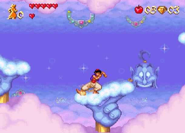 Disney's Aladdin Capcom Super Nintendo SNES Xtreme Retro 3