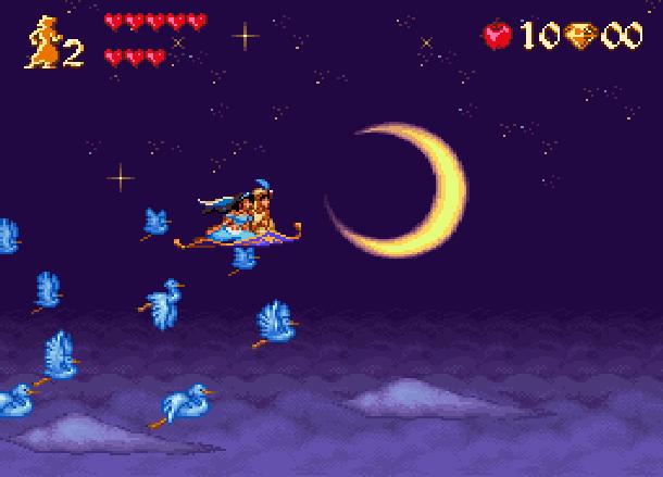 Disney's Aladdin Capcom Super Nintendo SNES Xtreme Retro 5