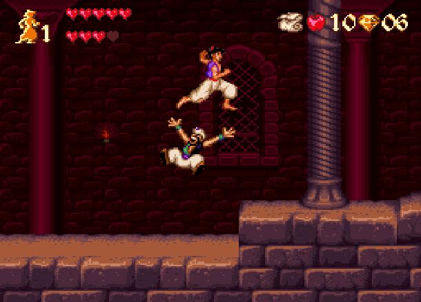 Disney's Aladdin Capcom Super Nintendo SNES Xtreme Retro 6