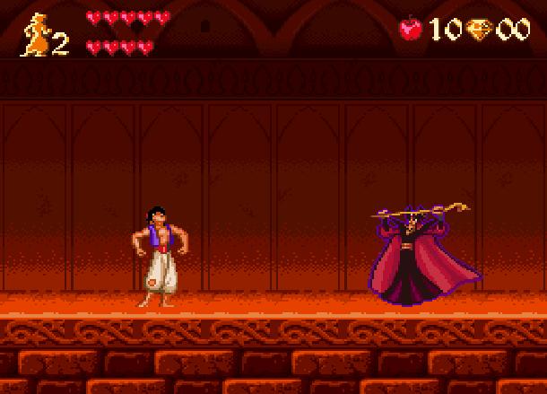 Disney's Aladdin Capcom Super Nintendo SNES Xtreme Retro 7