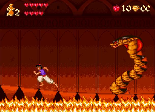 Disney's Aladdin Capcom Super Nintendo SNES Xtreme Retro 8