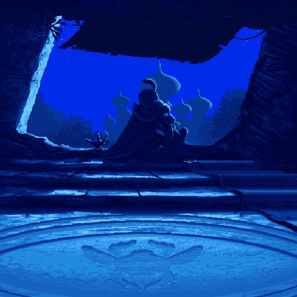 Disney's Aladdin Capcom Super Nintendo SNES Xtreme Retro Pixel Art
