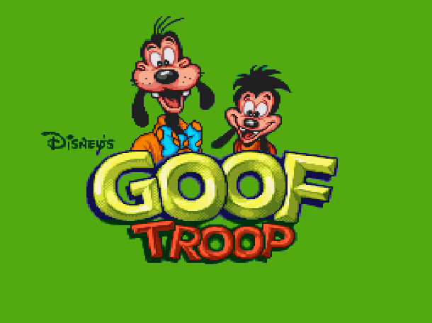 Disney's Goof Troop Capcom Super Nintendo SNES Adventure Xtreme Retro 1