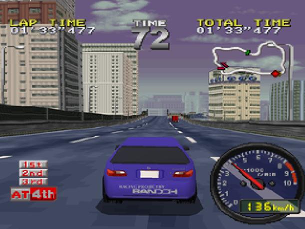 Drift King Tokyo Highway Battle Genki BPS Sony PlayStation PSX PSone Sega Saturn Xtreme Retro 2