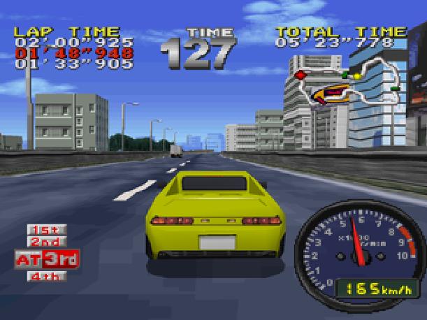Drift King Tokyo Highway Battle Genki BPS Sony PlayStation PSX PSone Sega Saturn Xtreme Retro 5