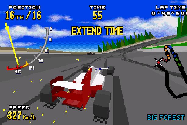 E Virtua Racing Sega Genesis Mega Drive MD 32X Xtreme Retro