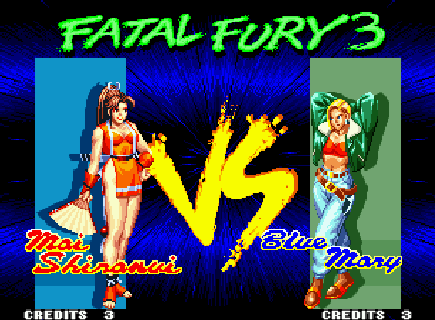 Fatal Fury 3 Road to the Final Victory SNK Arcade Neo Geo CD Sega Saturn PC Fighting Xtreme Retro 2
