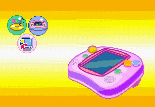 Game Park 32 GP32 Pixel Art Xtreme Retro