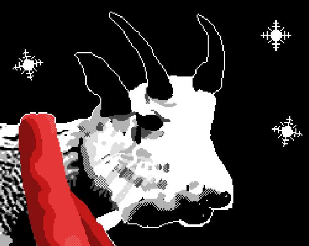 Goatup Llamasoft Jeff Minter 2011 iOS Pixel Art Xtreme Retro
