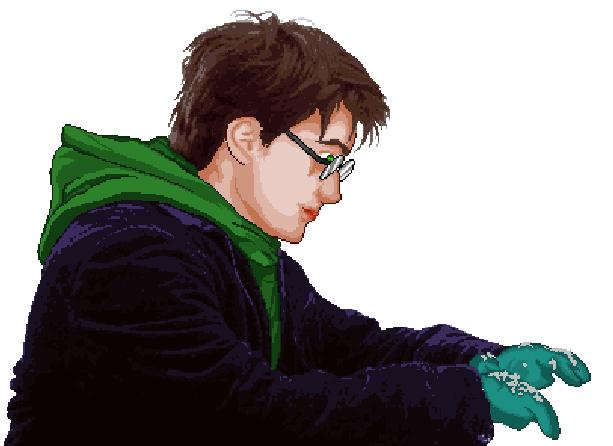 Harry Potter Game & Watch Take 2 Pixel Art Xtreme Retro