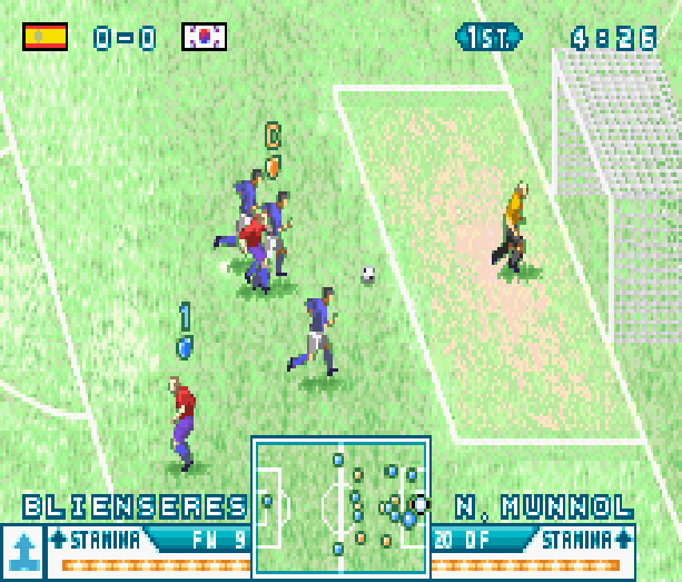 International Superstar Soccer Advance ISS 2003 Konami Nintendo Game Boy Advance GBA Xtreme Retro 5