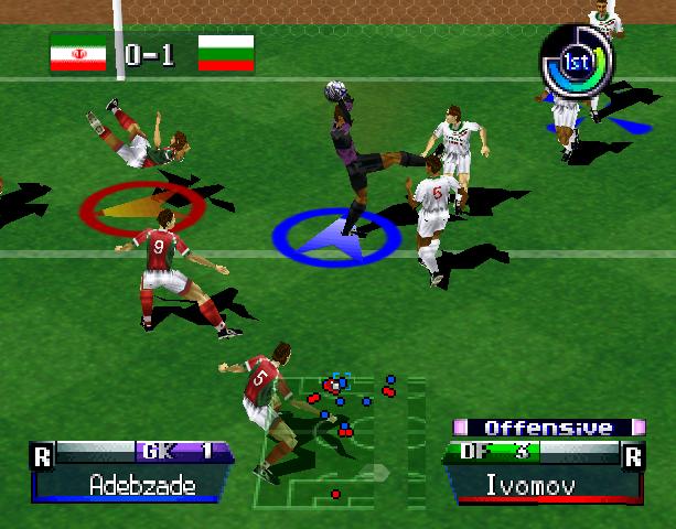 International Superstar Soccer Pro 98 ISS 98 Konami Nintendo 64 N64 Sony PlayStation PSX PSone Simulator Xtreme Retro 10