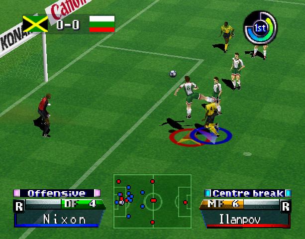International Superstar Soccer Pro 98 ISS 98 Konami Nintendo 64 N64 Sony PlayStation PSX PSone Simulator Xtreme Retro 13