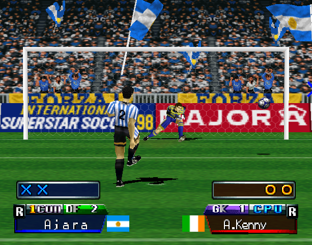 International Superstar Soccer Pro 98 ISS 98 Konami Nintendo 64 N64 Sony PlayStation PSX PSone Simulator Xtreme Retro 2
