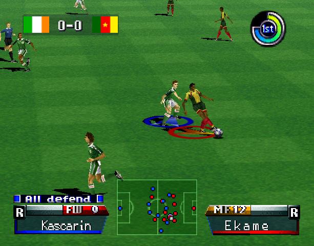 International Superstar Soccer Pro 98 ISS 98 Konami Nintendo 64 N64 Sony PlayStation PSX PSone Simulator Xtreme Retro 7