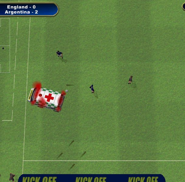 Kick Off 2002 Acclaim Entertainment Anco Windows PC Macintosh Xtreme Retro 1